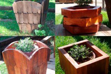 Four planters