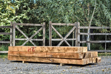 Pack landscaping sleepers