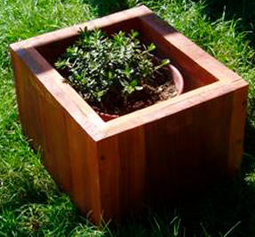only-square planter
