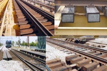 bridge railway wooden sleepers